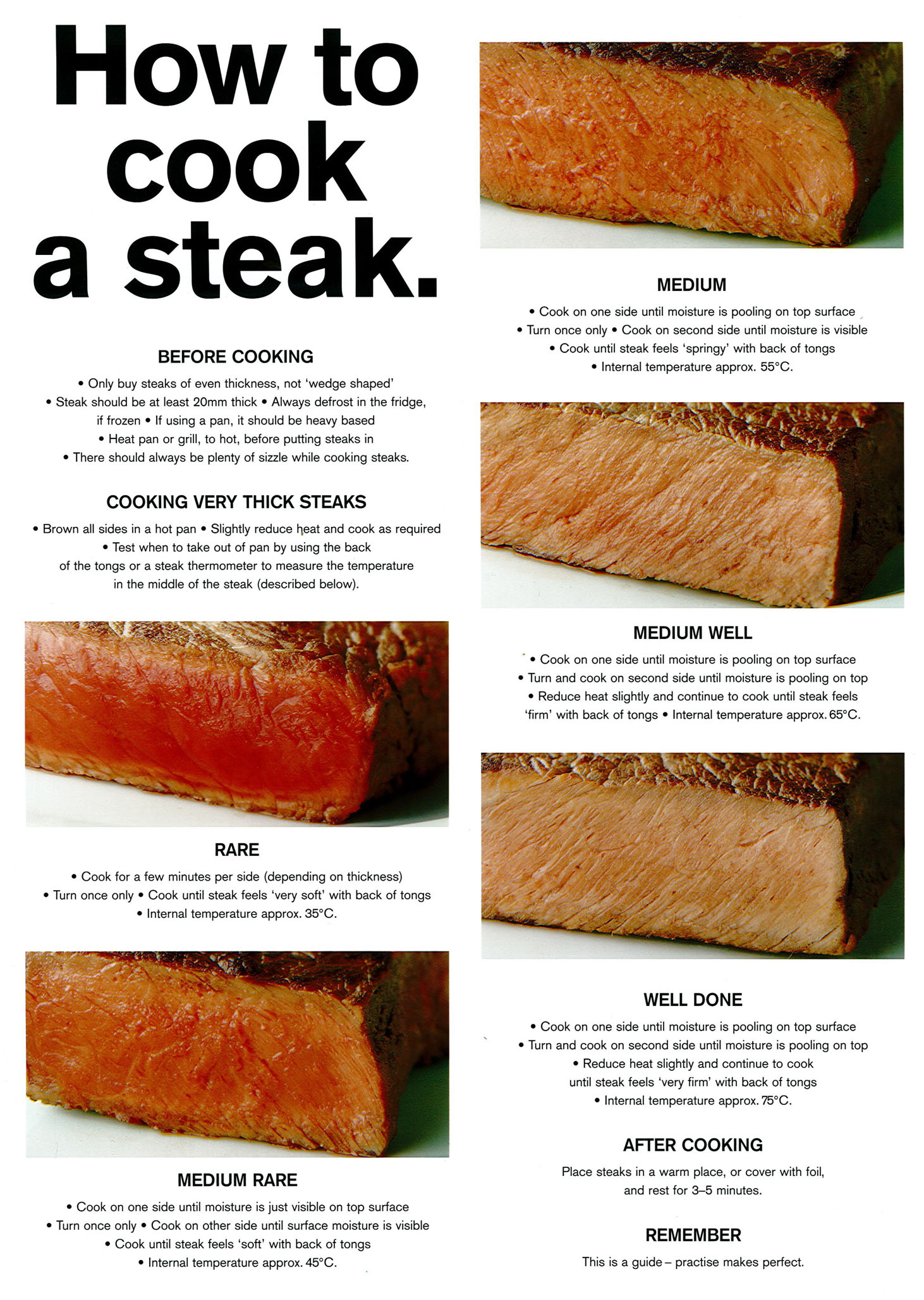 Cooking a steak - best methods